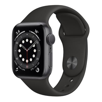 Apple Watch Series 6 44毫米 (GPS版 深空灰色鋁金屬表殼 黑色運動型表帶)