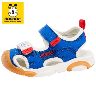 BOBDOG HOUSE巴布豆童鞋兒童涼鞋夏季男童女童寶寶1-3歲沙灘鞋B6253