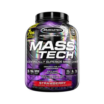 】Muscletech 肌肉科技 复合蛋白粉草莓味 7磅/罐 约3180克 美国进口 乳清蛋白 粉剂
