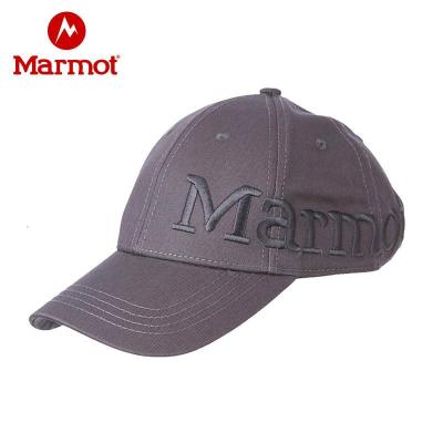 Marmot/土撥鼠遮陽戶外男女款四季運動休閑帽棒球帽