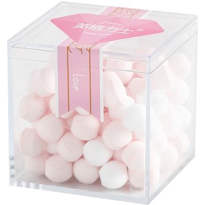 網紅吐息糖80克約會清口糖接吻糖果花香薄荷糖香體糖