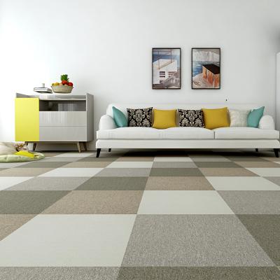 魔毯王國 地毯臥室滿鋪方塊拼塊拼接地毯客廳家用地毯商用辦公室地毯 環保PVC底 魔方100系列