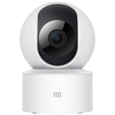 小米智能攝像機 云臺版SE 白色 360度水平視角1080p高清 紅外夜視 AI人形偵測