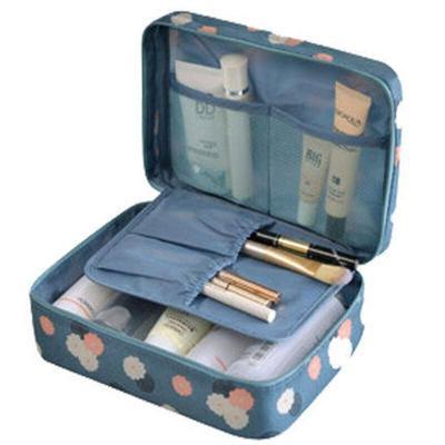 ins網紅女士化妝包大容量收納包手拿包化妝袋 便攜韓國簡約防水旅行洗漱包收納袋少女心洗漱品收納盒