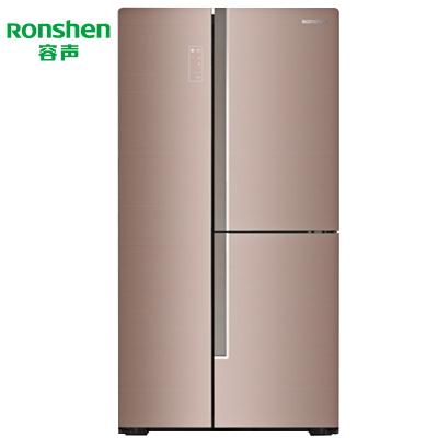 【99新】容声 558升 T型三门对开门 矢量双变频 家用冰箱 BCD-558WKS1HPG 沁香金