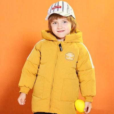 2019胖胖象冬季新款P24男女中小童装棉服棉衣加厚保暖连帽外套