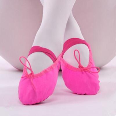 成人幼兒童舞蹈鞋軟底練功鞋女童貓爪鞋跳舞鞋帆布瑜伽鞋芭蕾舞鞋兒童舞蹈鞋女童軟底練功鞋成人貓爪鞋跳舞鞋帆布瑜伽形體芭蕾舞鞋
