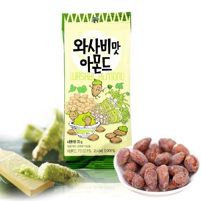 韓國進口Tom's Farm湯姆農場山葵味扁桃仁堅果果干35g袋裝