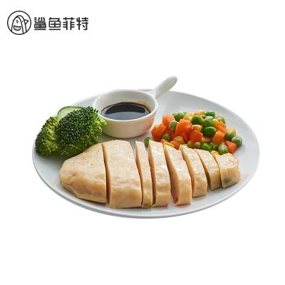 鯊魚菲特雞胸肉餅時蔬食蔬菜餅即食健身低減脂健身飽腹代餐8*60g(8袋)原味*4玉米味*4混合裝