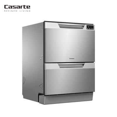 Casarte/卡薩帝WQP60DS洗碗機 家用嵌入式 一鍵智能洗鍋碗瓢盆 一次洗凈 16套