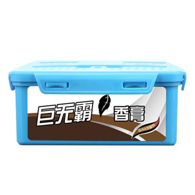(古龍味)ZHUAX汽車固體香膏持久車內擺件車載香水車用檸檬車里巨無霸香薰持久空氣凈化劑家居衛生間