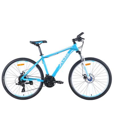 xds喜德盛山地自行车旭日300A禧玛诺24速17寸铝合金山地车26轮径双碟刹学生变速赛车男女学生车单车