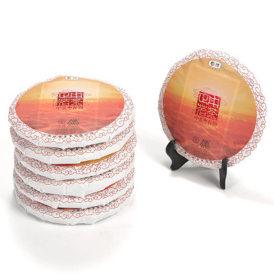 中茶 云南普洱茶 正茗系列 枣香饼 普洱熟茶357g