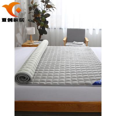 【廠家直蕟】羅蘭床墊軟墊薄款家用保護墊防滑薄床褥子墊被可水洗床褥墊子被褥馨逸夢