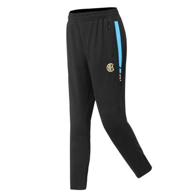 國際米蘭俱樂部Inter Milan官方新品足球伸縮舒適休閑運動束腳長褲