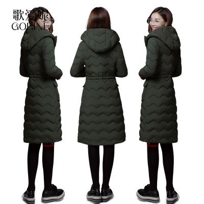 歌愛妮羽絨棉衣服女冬季棉服女中長款加厚外套冬女式棉襖女2020新款