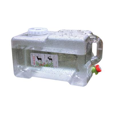 三极户外(Tripolar) TP8925 水桶户外旅行车载便携自驾手提矿泉水水桶大容量带龙头储水桶