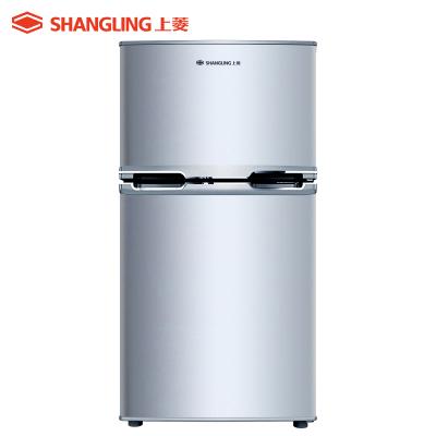 上菱(shangling) BCD-119CK 119升双门冰箱 性价比优选 节能两门迷你小冰箱 适用2人租房家用电冰箱