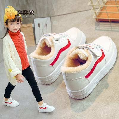 【廠家直營】兒童棉鞋童2019新款冬季大棉加絨加厚童二棉鞋運動鞋板鞋子 胖胖象(PangPangXiang)