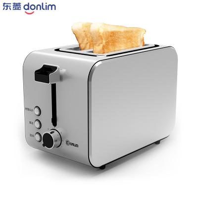 東菱(Donlim) DL-8117多士爐2片全自動家用不銹鋼烤面包機早餐機吐司機