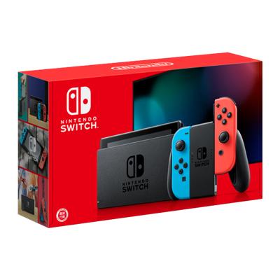 任天堂(Nintendo)Switch 掌上游戲機便攜 NS 紅藍手柄 增強版 港版