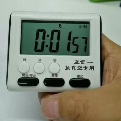 幫客材配 空調專用抽真空計時表 1個