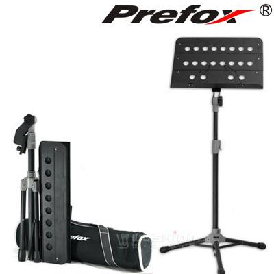 台湾Prefox大谱架SD201可升降 折叠加粗乐谱架加厚谱台架子鼓琴架