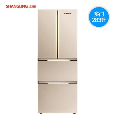 上菱(SHANGLING)冰箱 多门冰箱 冰箱多门 法式四门冰箱 冰箱家用 多门分区大容积283升BCD-283DHCF