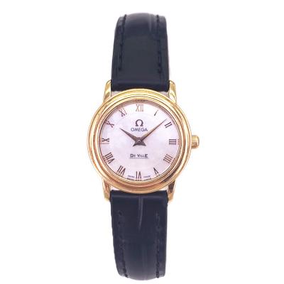 【二手95新】欧米茄OMEGA碟飞系列4670.71.02女表石英奢侈品钟手表腕表