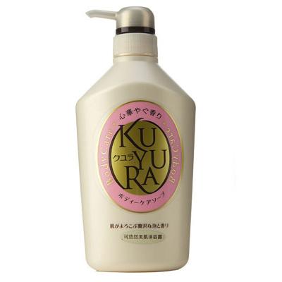 【悠享泡沫时光】SHISEIDO 资生堂旗下KUYURA 可悠然 美肌沐浴露(欣怡幽香) 550ml 各种肤质 成人