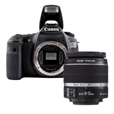 【二手95新】佳能/Canon EOS 60D 單反相機 60D +18-55 STM 【套機】