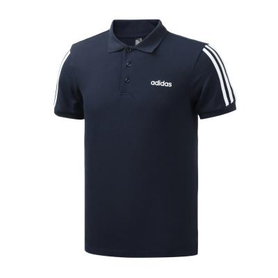阿迪达斯男服短袖POLO衫透气运动休闲服装EJ0925