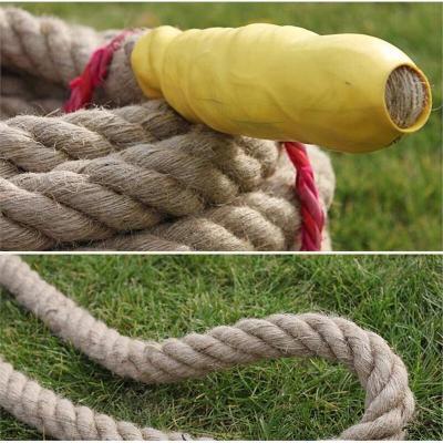 运动户外30米拔河绳趣味拔河比赛绳子粗麻绳儿童专用20米4cm攀爬绳放心购