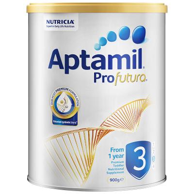 【高端配方】澳洲新西蘭愛他美白金版幼兒配方奶粉3段(1-3歲) 900g