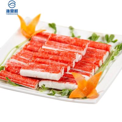 漁鼎鮮冷凍蟹肉棒500g出口品質日式料理佳品航空冷鏈配送 國產袋裝蟹類蟹肉棒
