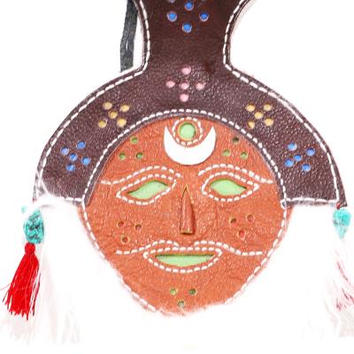 【中華特色館】西藏館 番德林 民族手工藝品面具 藏式面具卡通玩具中