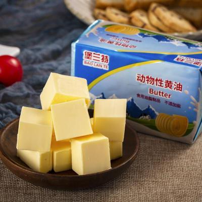动物性淡味黄油400克 家用烘焙牛轧糖牛排曲奇饼干原料 400g