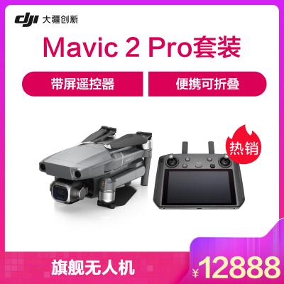 "DJI 大疆 无人机 ""御""Mavic 2 专业版 (DJI 带屏遥控器)"