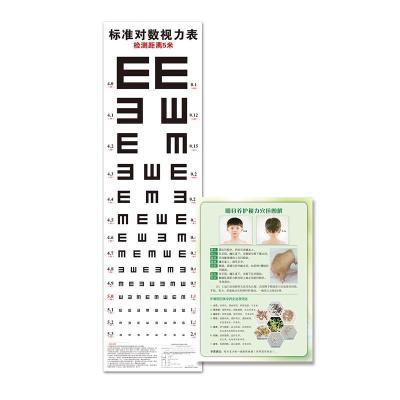 标准对数视力表—附赠:明目养护视力穴位图解