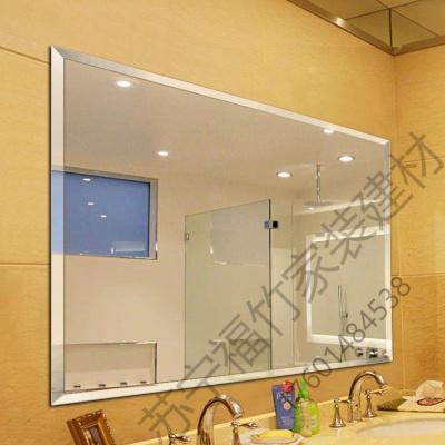 蘇寧嚴選 衛生間浴室鏡裝飾鏡洗臉盆貼墻廁所玻璃衛浴鏡子半身壁掛大可粘貼TTT