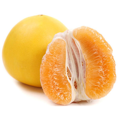 福建平和琯溪蜜柚 黃金柚1個裝單果750-1200g (拍2件合并發貨)(偶數發貨)