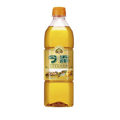 今添食用油 非转基因 一级大豆油900ml