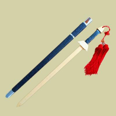 帶鞘木劍學校武術訓練木刀木頭幼兒園玩具COS舞臺道具舞蹈木制劍
