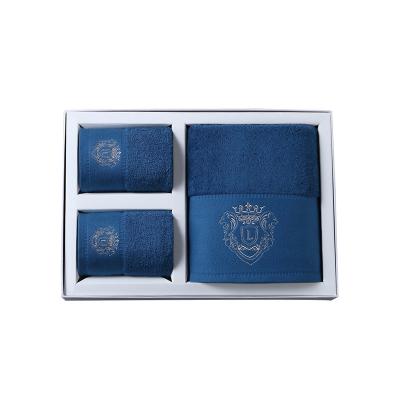 Lapasiòn五星級酒店浴巾三件套純棉成人大毛巾浴巾禮盒套裝1浴+2面