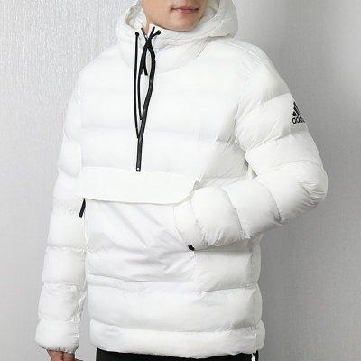 阿迪達斯(adidas)冬季男士防寒保暖連帽防風棉服外套CY8638