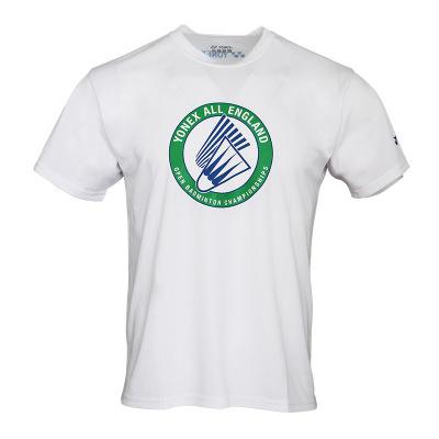尤尼克斯(YONEX)羽毛球服新款男式款短款短袖T恤球服上裝全英賽文化衫聚酯纖維材質YY夏季運動隊服YOB19112CR