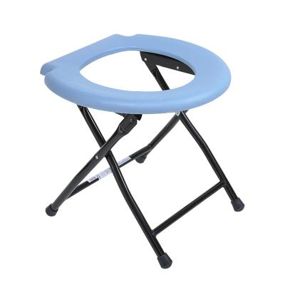 可孚老人廁所椅 坐便椅可折疊藥房座便器孕婦坐便器馬桶凳痔瘡坐浴盆 ZC098/ZC097隨機發 Cofoe