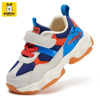 BOBDOG HOUSE巴布豆童鞋春秋新款兒童學步鞋男童軟底機能鞋女童寶寶鞋B9355
