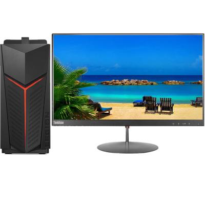 聯想(Lenovo)拯救者刃7000 3代 設計制圖游戲高端臺式電腦整機(i7-9700F 16G 512G SSD GTX1660super 6G獨顯 Win10)+23英寸