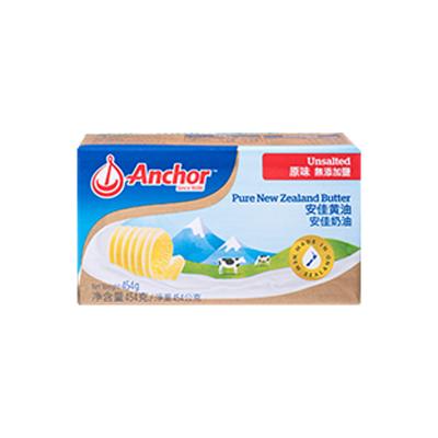 安佳(Anchor)淡味黄油(原味)454g